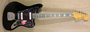 Squier Classic Vibe '70s Jaguar, Black - DUE BACK IN STOCK JUNE 2021