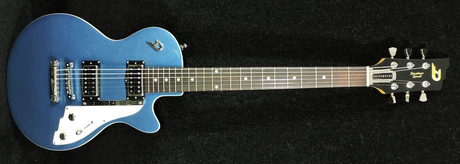 Duesenberg Starplayer Special Catalina Blue - Including Duesenberg Hard Case