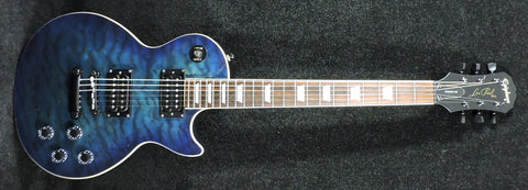 Epiphone Les Paul Classic Quilt 2001 Limited Edition Trans Blue - Used