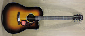 Fender CD-140SCE Electro-Acoustic Guitar. Sunburst