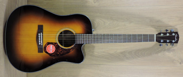 Fender CD-140SCE Electro-Acoustic Guitar. Sunburst including hard case