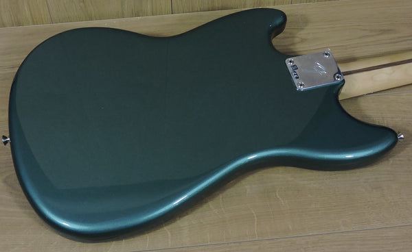 Fender Ltd. Edition Player Mustang PJ Bass, Sherwood Green Metallic