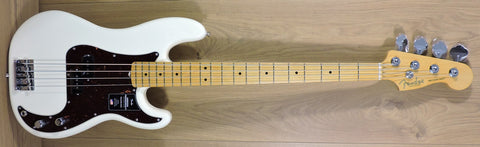 Fender American Professional II Precision Bass, Olympic White, Maple Neck - IN STOCK NOW!