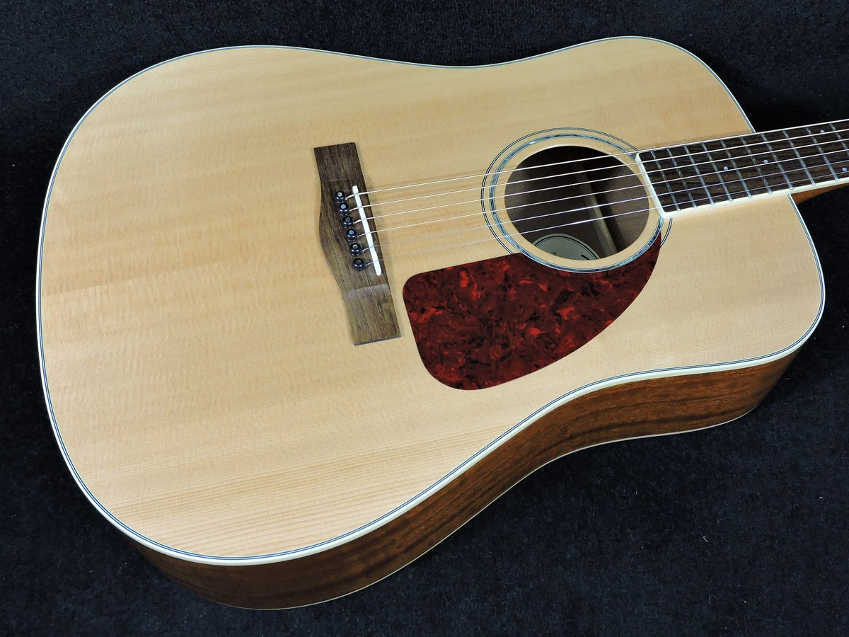 Fender Cd320as Acoustic Guitar All Solid Wood Used