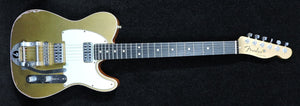 Fender Custom Shop Telecaster Double TVJ Relic With Bigsby Gold Top - Used