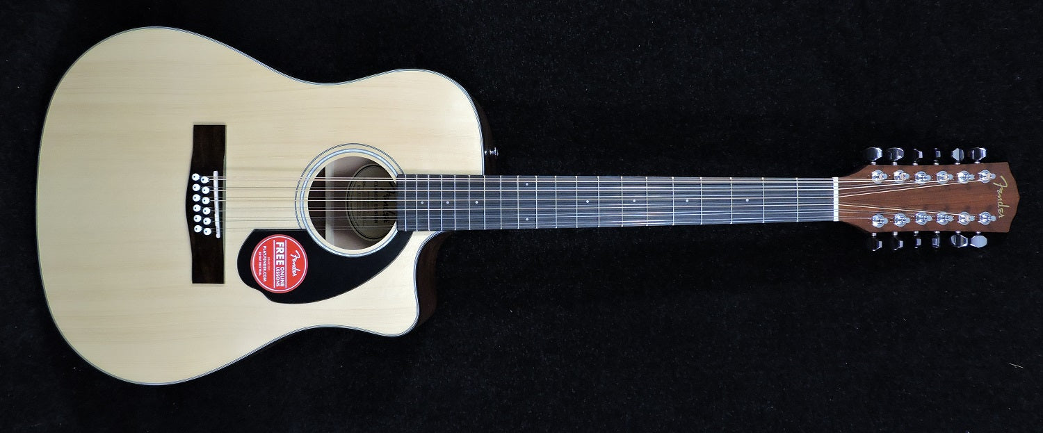 Fender CD-60SCE 12 String.