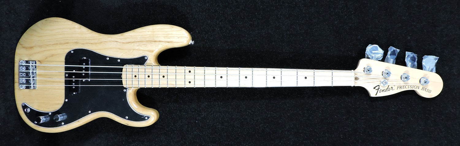 Fender Limited Edition '70s Precision Bass Natural, Maple Fingerboard