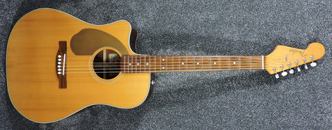 Fender Sonoran Electro Acoustic Guitar Left Handed - Used