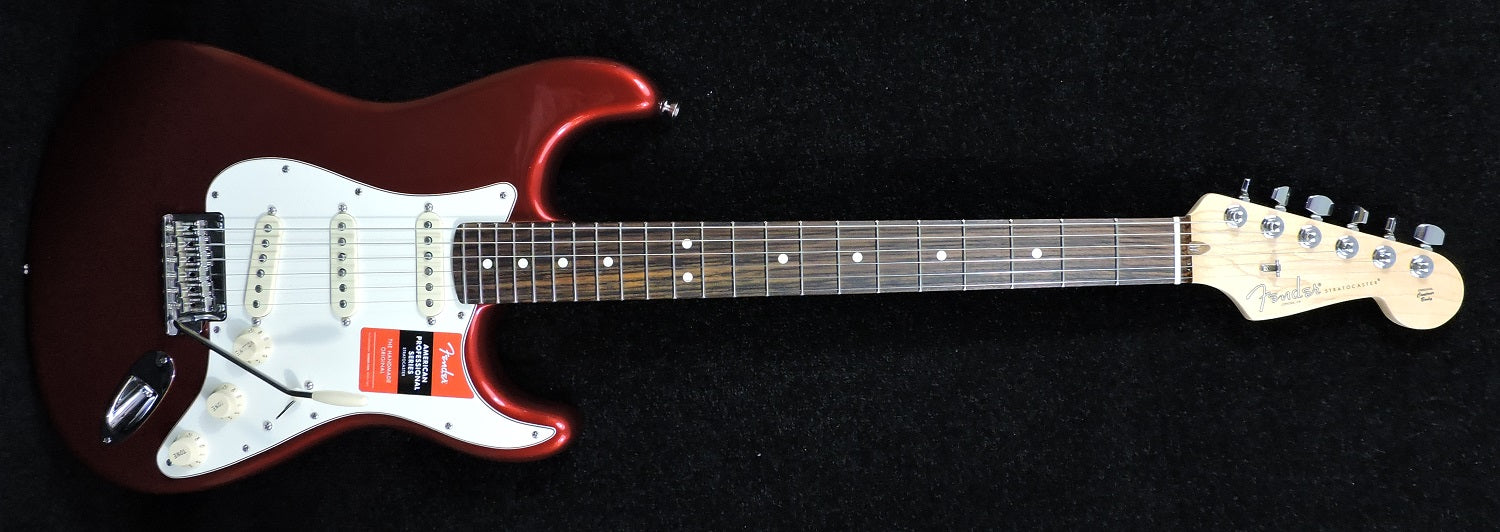 Fender American Professional Stratocaster. Candy Apple Red. Rosewood neck