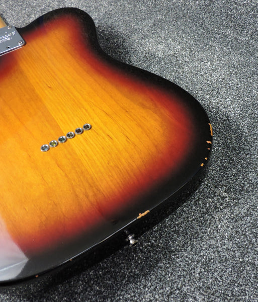 Fender American Telecaster 3 Colour Sunburst Upgraded pickups - Used