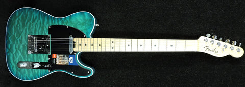 Fender American Elite Telecaster FSR Limited Edition Quilted Maple Aqua-Marine