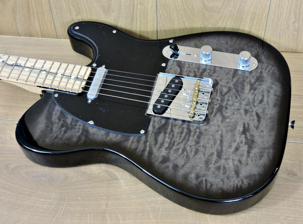 Fender USA FSR Ltd. Edition Telecaster Quilted Maple Top Pale Moon Ebony neck