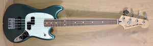 Fender Ltd. Edition Player Mustang PJ Bass, Sherwood Green Metallic - Used