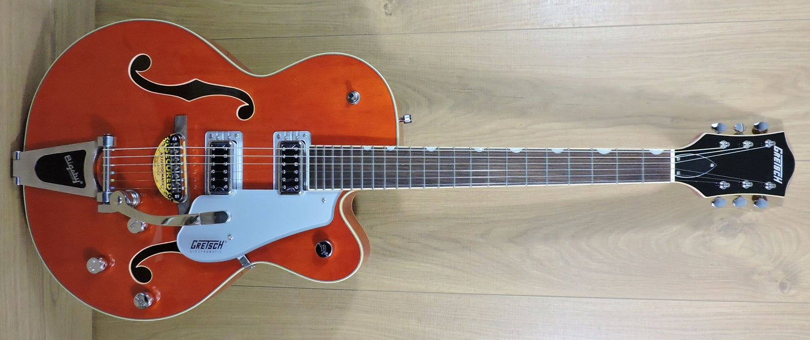 Gretsch G5420T Electromatic® Hollow Body Single-Cut with Bigsby. Orange Stain