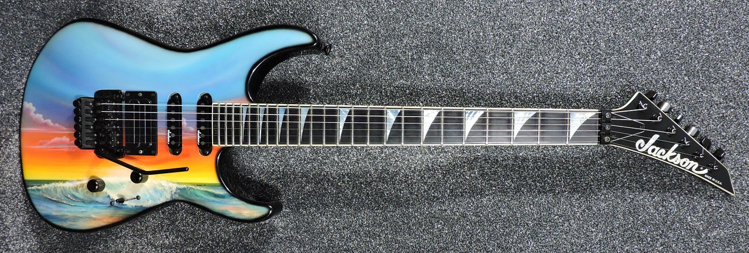 Jackson Soloist 'Sunset' Made In USA 1994 - MINT! - Used