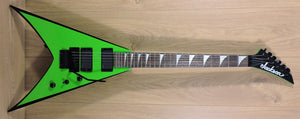 Jackson X Series King V Slime Green KVXMG With Hard Case - Used