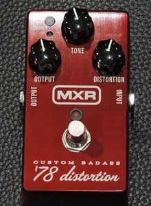 MXR CUSTOM BADASS '78 DISTORTION - Used
