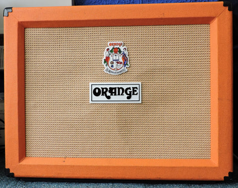 "Orange PPC212 2x12"" Guitar Cabinet with cover - Used"