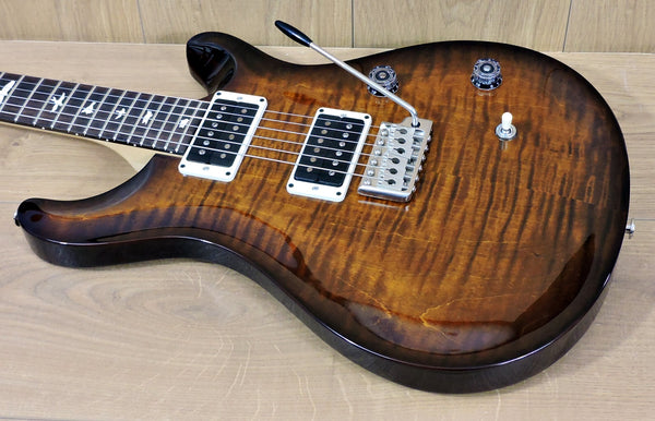 PRS CE Custom 24 Burnt Amber Sunburst