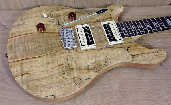 PRS SE Custom 24  Limited Spalted Maple Left Handed