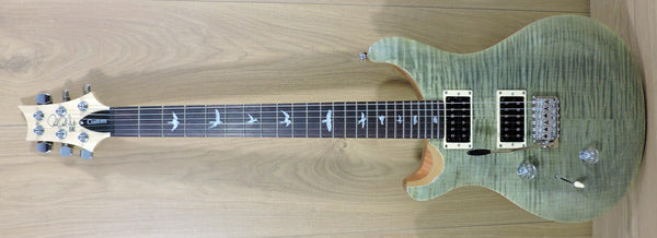 PRS SE Custom 24 Left Handed Trampas Green