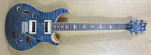 PRS SE Custom 22 Semi-Hollow Ltd Edition Whale Blue Quilt - Slightly Marked
