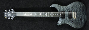PRS SE LIMITED EDITION Quilted Top Satin 'Stealth' Custom 24 Left Handed