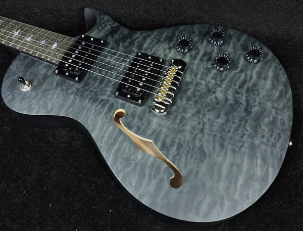 PRS SE LIMITED EDITION 'Stealth' Satin Quilted Top Zach Myers