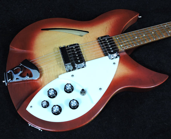Rickenbacker 330 6 string. Fireglo. 2001. Original Case - Used