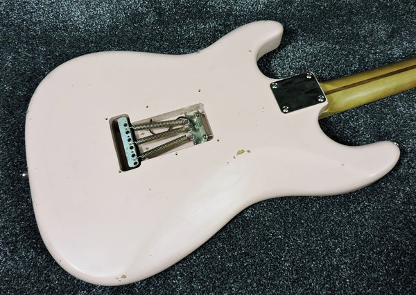 Rittenhouse 'S' Relic Model Guitar Custom Made in USA Shell Pink