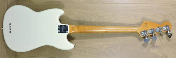 Squier Classic Vibe 60's Mustang Bass. Olympic White