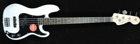 Squier Affinity Series Precision Bass PJ Olympic White