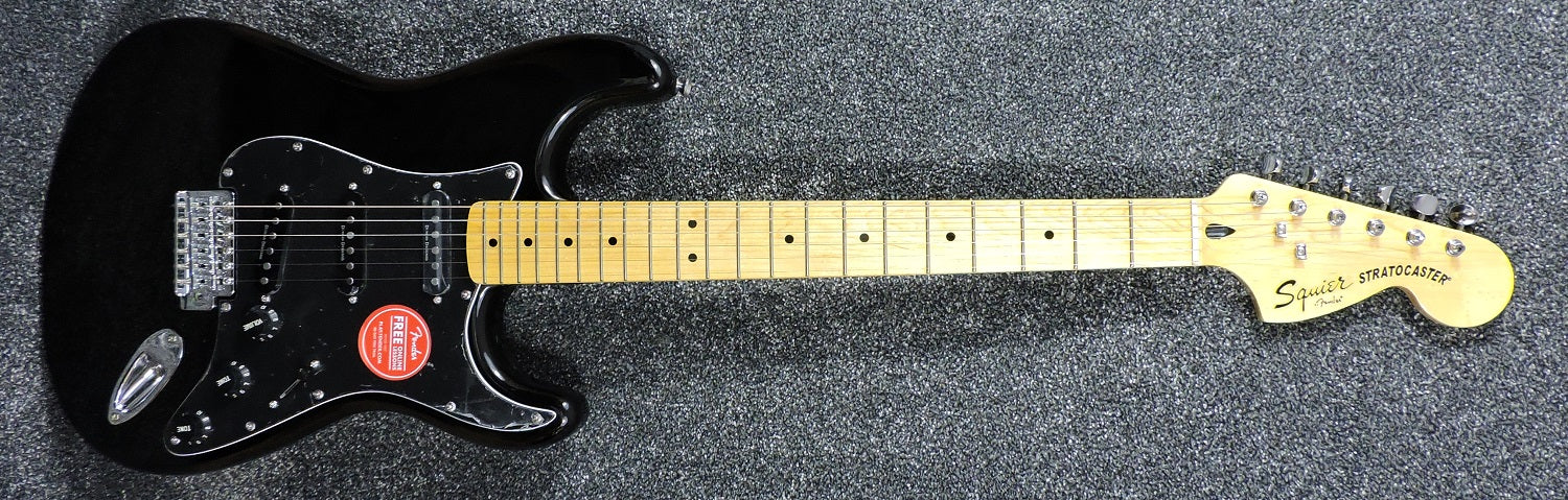 Squier Vintage Modified '70s Stratocaster Black