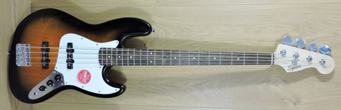 Squier Affinity Series Jazz Bass Brown Sunburst