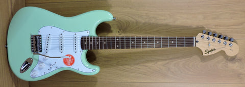 Squier Affinity Stratocaster, Surf Green