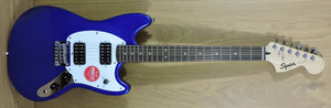 Squier Bullet Mustang HH Rosewood Fingerboard Imperial Blue - DUE MID JANUARY 2021