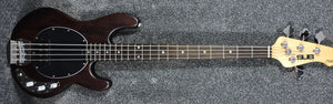 Sterling by MusicMan Sub Ray 4 Bass Walnut Satin - marked
