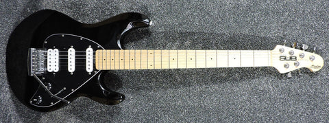 Sterling by MusicMan Sub Silo 3 Black Maple Neck