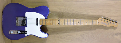 Fender Limited Edition Road Worn '50s Telecaster Purple - Used