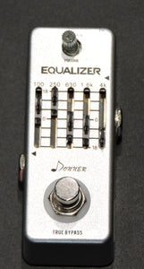 Donner Equalizer Pedal 5-band Graphic EQ Guitar Effect Pedal  Used