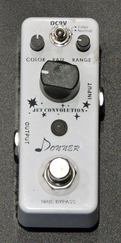 Donner Jet Convolution Flanger Guitar Effect Pedal True Bypass - Used
