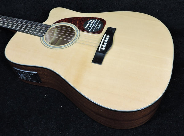 Fender CD-140SCE Natural Electro-Acoustic Guitar