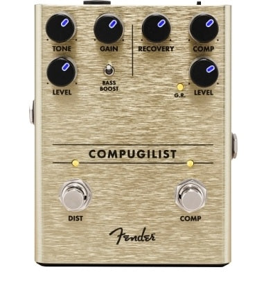 Fender Compugilist Compressor/Distortion Pedal