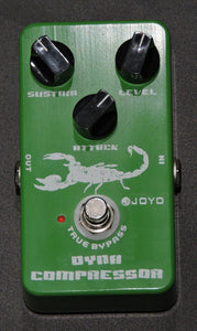 JOYO JF-10 Dynamic Compressor Guitar Effect Pedal - Used