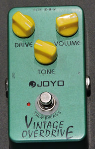 JOYO JF-01 Vintage Overdrive Guitar Effect Pedal - Used
