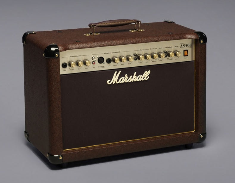Marshall AS50D Acoustic Guitar Amp. Brown