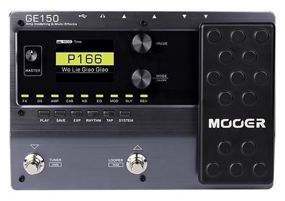 mooer ge150 amp modelling and multi effects pedal langley guitar centre