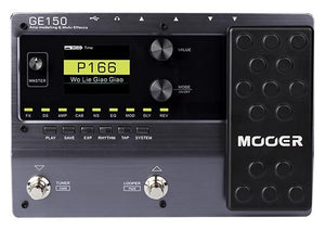 Mooer GE150 Amp Modelling and Multi Effects Pedal