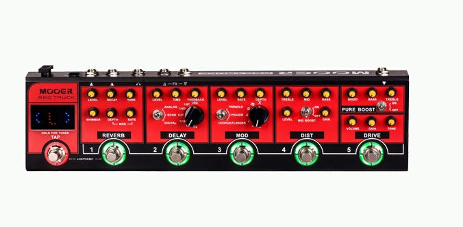 Mooer Red Truck Effects Pedal