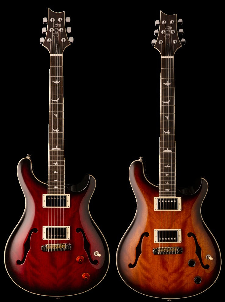 prs se hollowbody standard available to pre order langley guitar centre. Black Bedroom Furniture Sets. Home Design Ideas